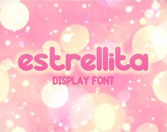 Estrellita font. Display font.