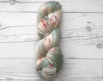 """Maven Sock - """"Cactus Fever"""" - Fingering Weight - Hand Dyed Yarn"""