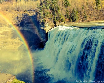 Rainbow & Waterfull