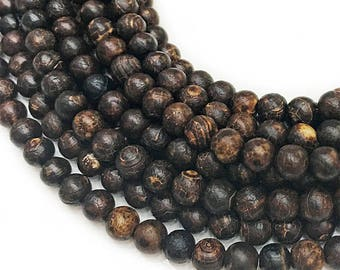 6mm Bark pattern Agate Beads ,Gemstone Beads Agate,Frosted Agate Beads,Round Agate ,Matte Semiprecious stone beads,60pcs/Full Strand VIN0001
