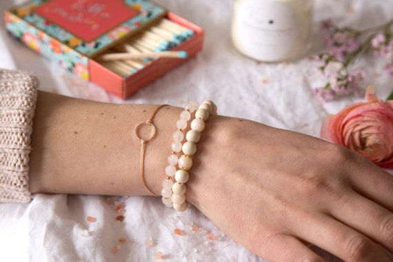 Bracelets handmade with love in Montreal