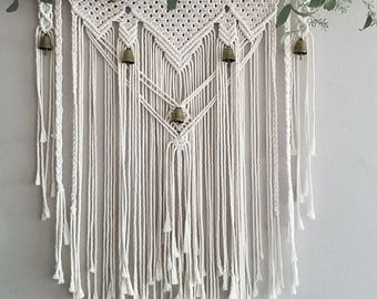 Macramé Wall Hanging With Bells