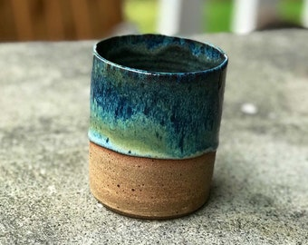 Blue Mist Handless Mug