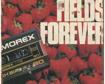 """Memorex Strawberry Fields Forever 10"""" x 7"""" Reproduction Metal Sign D24"""