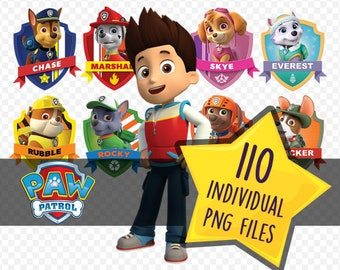 Paw Patrol - Image Clipart / Instant Digital Download / PNG Files