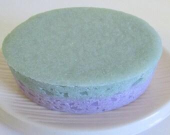 Peppermint Lavender Sea Salt Soap w/essential oils