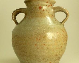 Pottery Hand Thrown Stoneware Vase