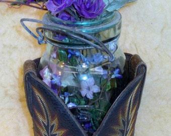 Boot top vases