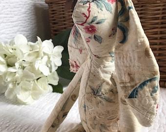 Vintage quilt bunny