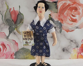 Margaret Mitchell Gone With the Wind Author Miniature Collectible Figure