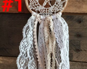 "4"" Doily dream catcher"