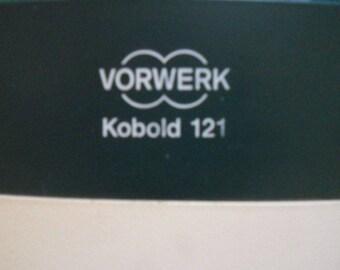 Vorwerk Kobold vk 121+et340 REGENERATED + BAGS + PERFUMES
