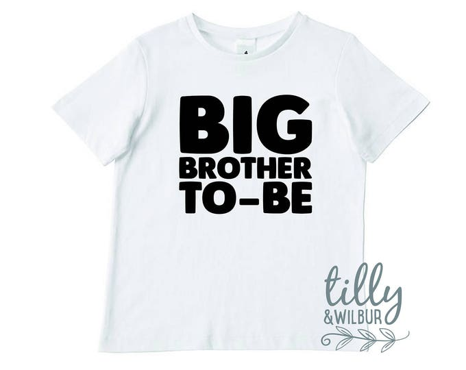 Big Brother To-Be Boys Tee