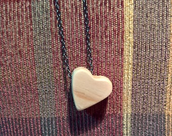 Essential oil necklace, handmade heart necklace, heart shaped necklace, heart pendant necklace, essential oil diffuser, essential oils