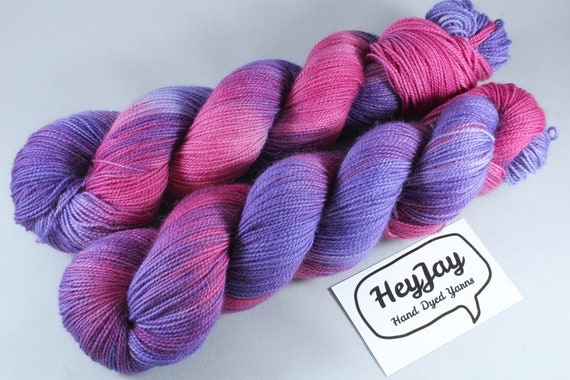 Ultimate Sock Yarn, BFL High Twist - Fuchsia
