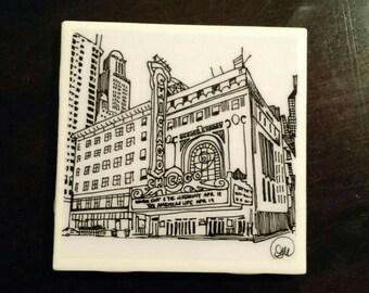 Chicago Theatre - coaster