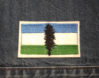 Cascadia ~ Independance Movement ~ Embroidered Patch ~ Iron-On Sew-On