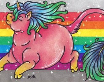 Fabulous Fat Unicorn