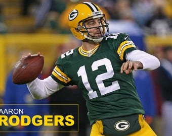 Aaron Rodgers Poster (Green Bay Packers) FREE SHIPPING