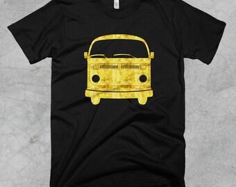 Golden Volkswagen VW Bus T-Shirt