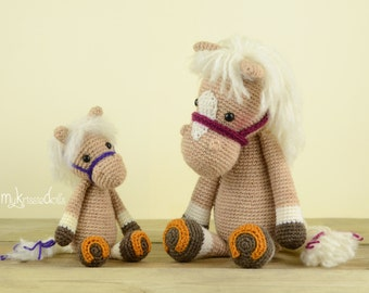 Crochet Pattern - MINI Horse Piem