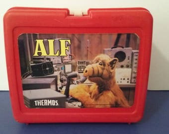 """Vintage 1987 - """"Alf"""" Lunch Box by Thermos - USA Made"""