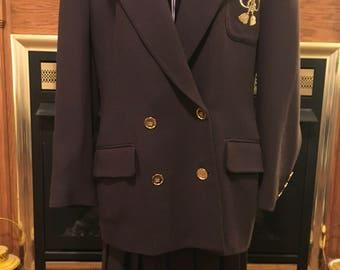 Christian Dior 80's monagrammed suit