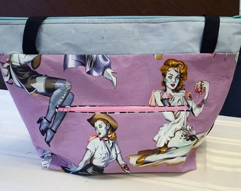 Zombie Pin Up Tote