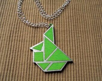 Necklace, tangram, sailboat (761)