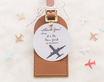 Bulk Listing Navy Wedding Favors Fly Away with Me Leather
