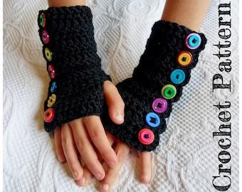 Crochet Pattern ~ Instant Download ~ Arm Warmers
