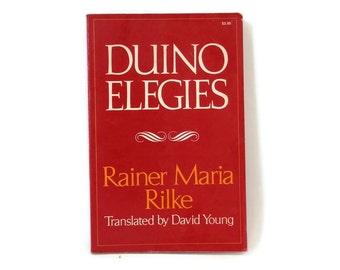 1978 Duino Elegies Rainer Maria Rilke  Poetry Paperback German/English Edition