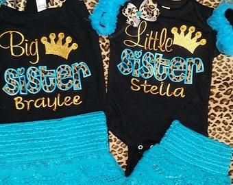 Big Sister Short Set