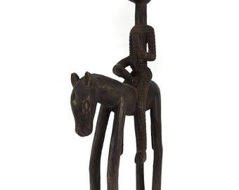 Dogon Horse and Rider Mali African Art 120044
