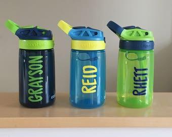 Contigo Personalized Water Bottle, Kids Water Bottle, Name Water Bottle, Custom Water Bottle, Girls Gift, Boy Gift, Kids Gift