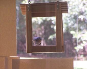 Fenster vogelfutterhaus acryl einfach sauber f tterung - Fenster abdichten acryl ...