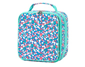 Confetti Pop Lunch Box, Monogram or Name FREE