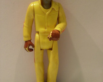 1974 Fisher Price Adventure Series Action Figure Race Car Driver