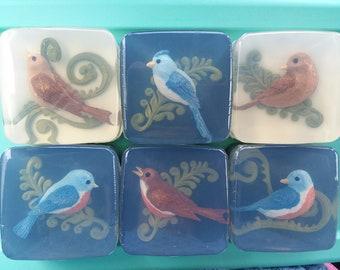 Vogel Art Soap-Glycerin - Wahl der Vogel, Duft - Bade- und -Mutter-Tag