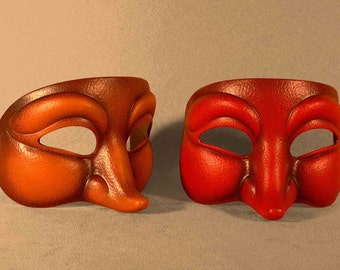 Curious Character latex Mask for Theatre, LARP, Costume, cosplay