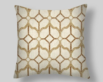 Brown Pillows, Brown Decorative Pillows, Beige Throw Pillow,  PILLOW COVERS ,Decorative Throw Pillows, ,Home Decor All Sizes