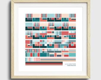 La La Land Theme - Justin Hurwitz - Print
