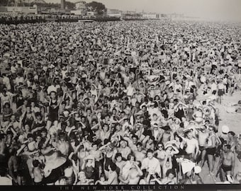 Coney Island 1940 25x36 The New York Collection Poster