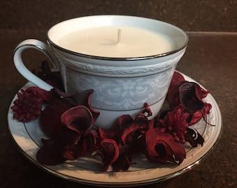 Noritake Tea Set Candle