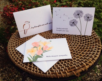 Thinking Of You Cards (Set of 12)