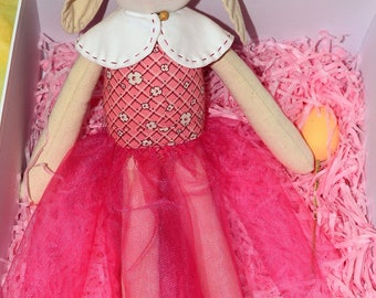 Handmade Girl Bunny Doll