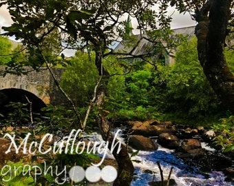 Ring of Kerry, Church, Irish Decor, Fine Art Photo Print, Wall Art