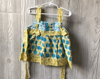 3T - Floral knot dress
