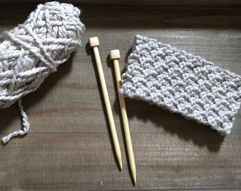THE WILLOW HEADBAND || Chunky Knitted Headband