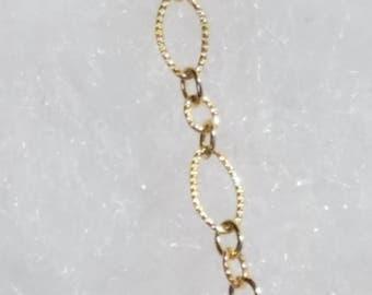 7055 14 karat golf filled Bracelet/Ankle Bracelet